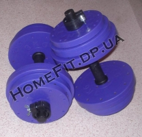 Две гантели по 13 кг для дома и спортзала