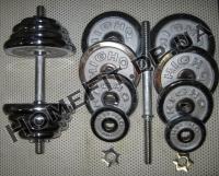 Гантели наборные хромированные 2 шт по 20 кг