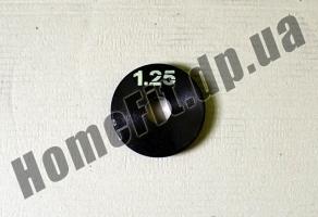 Блин стальной 1,25 кг купить в Киеве и Житомире