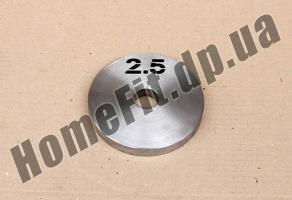 Блин стальной Н/О 2.5 кг: купить Миргород и Чернигов