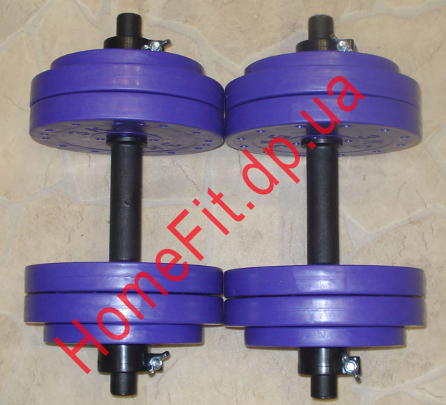 Продаются две гантели, суммарный вес блинов - 35 кг 3500р