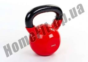 Гиря литая ZS от 2 до 24 кг с виниловым покрытием: фото 1