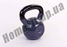 Гиря литая ZS от 2 до 24 кг с виниловым покрытием: фото 8
