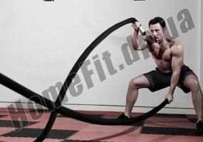 Канат для кроссфита в защитном рукаве Battle Rope : фото 2