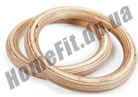 Кольца для кроссфита и гимнастики деревянные фото 4