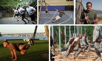 Петли TRX Force Kit упражнения тренировка