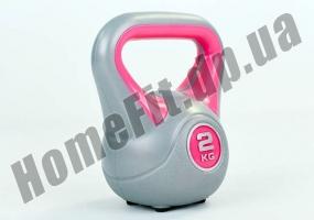 Фитнесс-гиря RA пластиковая, от 1 до 16 кг: фото 1