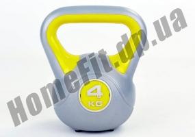 Фитнесс-гиря RA пластиковая, от 1 до 16 кг: фото 14