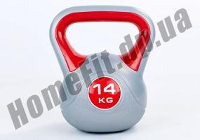 Фитнесс-гиря RA пластиковая, от 1 до 16 кг: фото 4