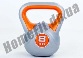 Фитнесс-гиря RA пластиковая, от 1 до 16 кг: фото 9