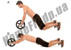 Ролик для пресса Ab Wheel (колесо-триммер): фото 4
