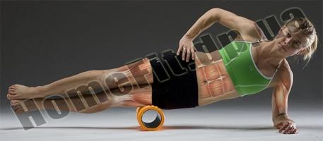 Роллер (валик) массажный для фитнеса и йоги Grid Roller  фото 10