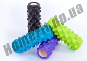 Роллер (валик) массажный для фитнеса и йоги Grid Roller  фото 1
