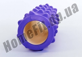 Роллер (валик) массажный для фитнеса и йоги Grid Roller  фото 2