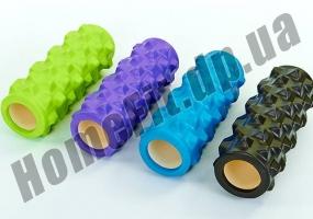 Роллер (валик) массажный для фитнеса и йоги Grid Roller  фото 8
