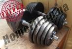 125 кг блинов и гантели 2х20 кг (УЦЕНКА - Б/У) купить в Запорожье и Кривом Роге
