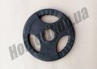 Блин литой 5 кг для штанги (52 мм) серии SL: фото 3