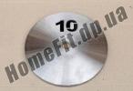 Блин стальной Н/О 10 кг (26/31/52 мм)