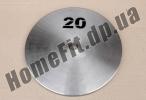 Блин стальной Н/О 20 кг (26/31/52 мм)