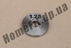Блин стальной Н/О 1,25 кг (26/31/52 мм)