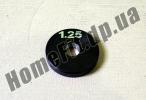 Блин стальной 1,25 кг (26/31/52 мм)