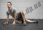 Роллер (валик) массажный Grid Roller Mini 10 см для йоги, фитнеса, пилатеса: фото 1