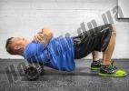 Роллер (валик) массажный для фитнеса и йоги Grid Roller  фото 11