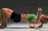 Роллер (валик) массажный для фитнеса и йоги Grid Roller  фото 9