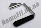Ручка для тренажера одинарная обрезиненная: фото 2