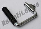 Ручка для тренажера одинарная обрезиненная: фото 3