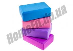 Йога блок EVA (кирпич для йоги): фото 1