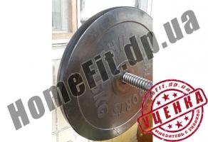 125 кг блинов и гантели 2х20 кг (УЦЕНКА - Б/У) купить в Днепродзержинске и Белой Церкви