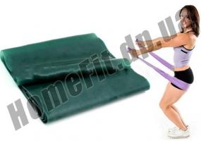 Эластичная лента для пилатеса фото 5
