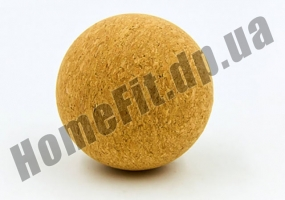 Мячик массажный пробковый: фото 1