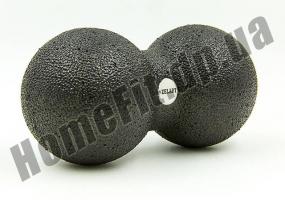 Двойной массажный мячик DuoBall Black: фото 1
