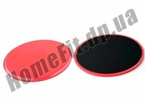 Фитнес-диски для глайдинга-скольжения Gliding Discs: фото 1