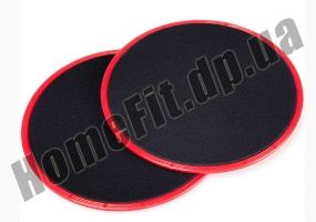 Фитнес-диски для глайдинга-скольжения Gliding Discs: фото 2