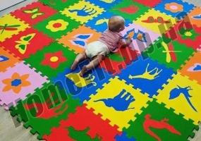 Коврик-пазл детский 10 мм: фото 2