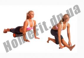 Массажный валик Perfect Foam Roller 3ассажный валик Perfect Foam Roller 3 в 1 для спины и йоги фото 6