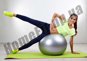 Мяч для фитнеса King Lion, диаметр 65 см: фото 6