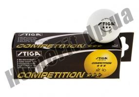 Мяч для настольного тенниса Stiga 3* Competition: фото 1