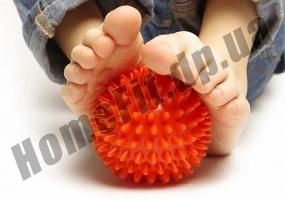 Мячик массажный Tonus 9 см с шипами: фото 9