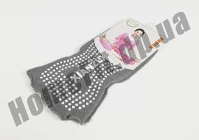 Носки для йоги нескользящие (без пальцев): фото 2
