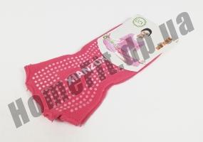 Носки для йоги нескользящие (без пальцев): фото 3