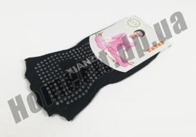 Носки для йоги нескользящие (без пальцев): фото 4