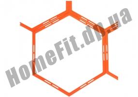 Тренировочный шестиугольник Soccer 4-12 ячеек: фото 2