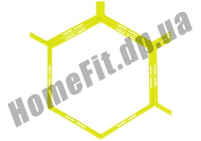 Тренировочный шестиугольник Soccer 4-12 ячеек: фото 1