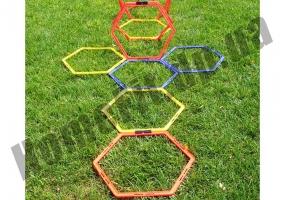 Тренировочный шестиугольник Soccer 4-12 ячеек: фото 3