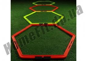 Тренировочный шестиугольник Soccer 4-12 ячеек: фото 4