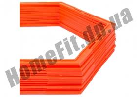 Тренировочный шестиугольник Soccer 4-12 ячеек: фото 5
